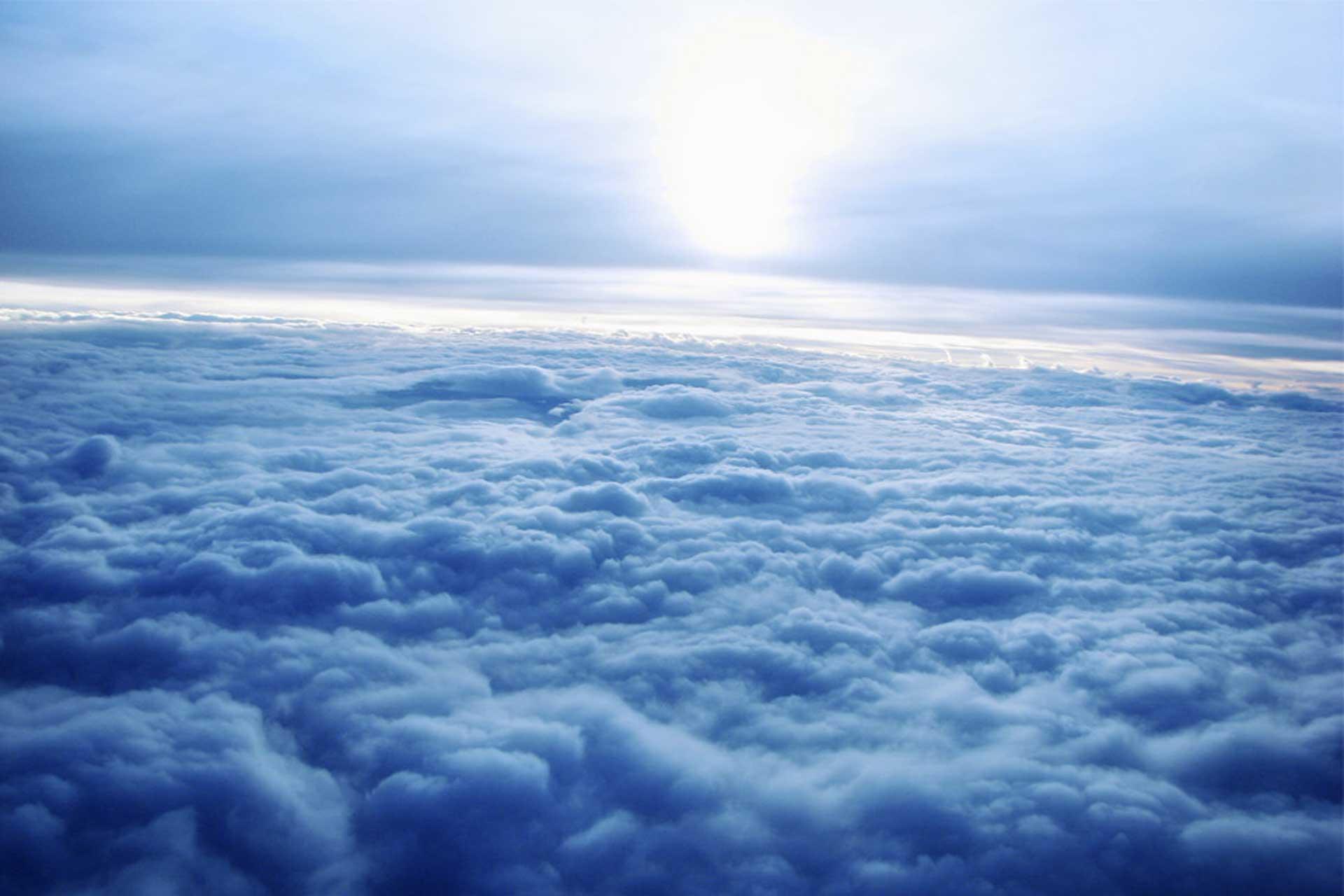Облака под ногами