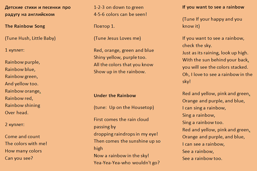 Загадки на английском языке