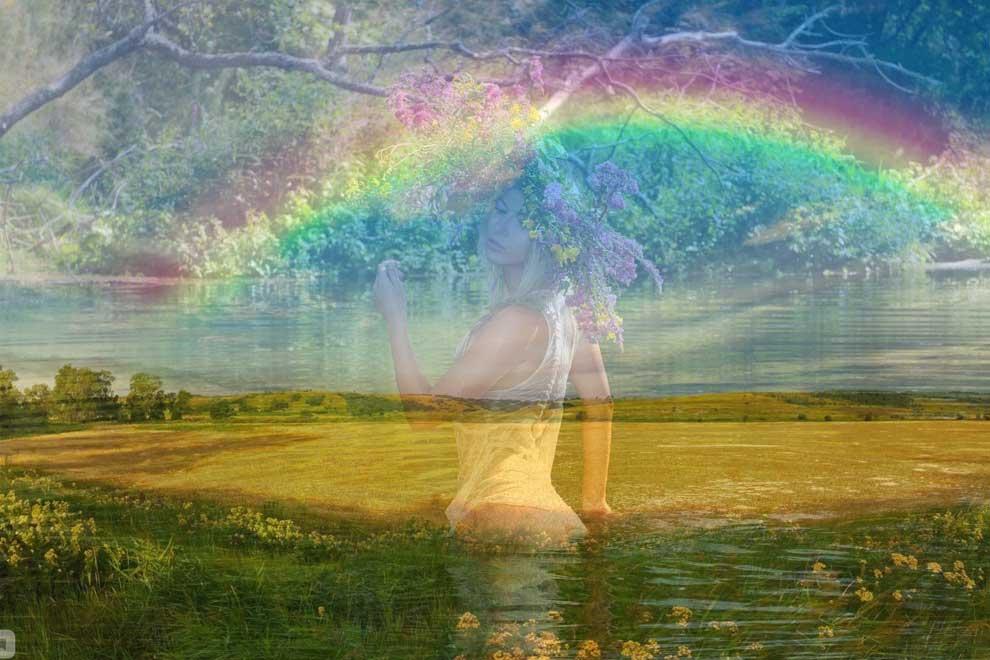 Увидеть на небе радугу к чему