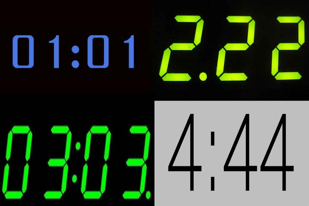 Цифры 1