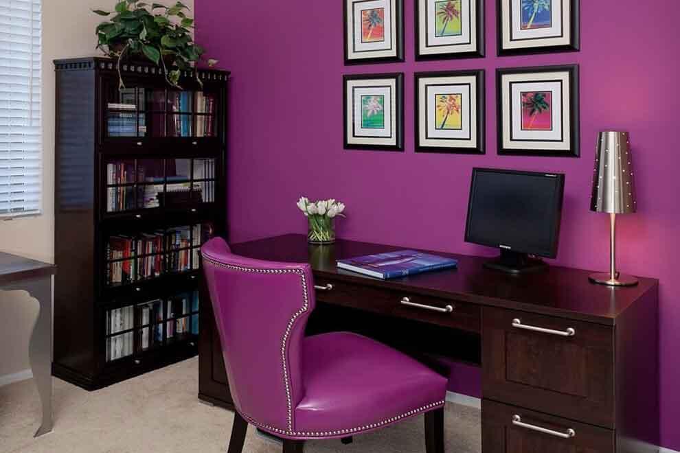 Фиолетовый в личном кабинете