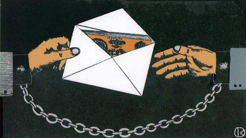 Рисунки школьника на тему борьба с коррупцией