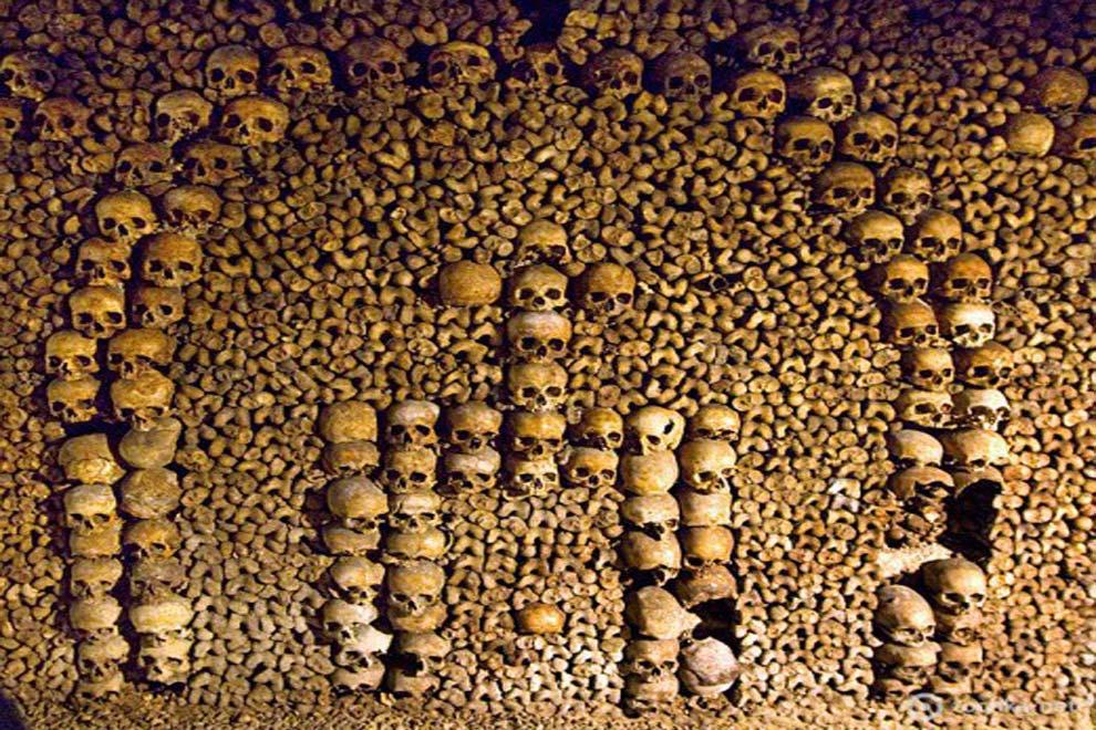 В хранилищах останков более 6 млн человеческих черепов