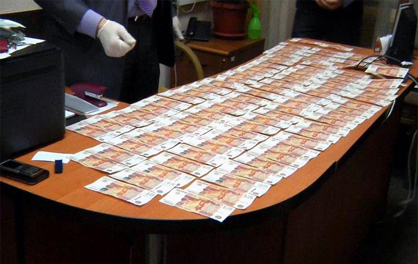 Экспертиза изъятых денежных средств во время обыска