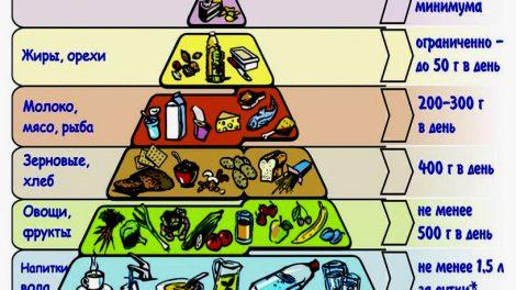 Питание правильное: меню на каждый день для снижения веса