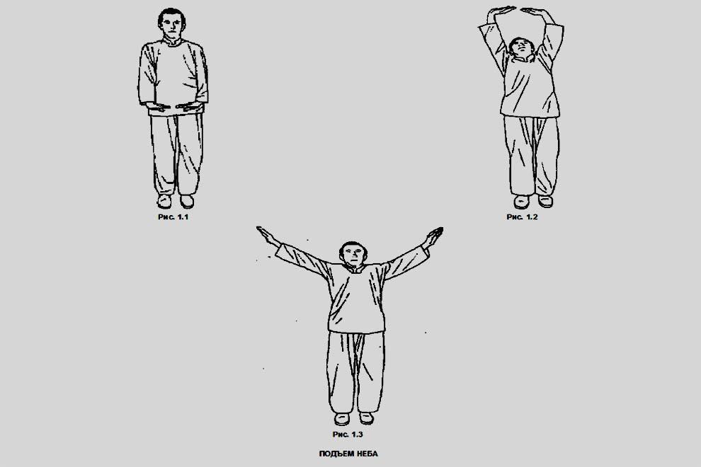 Подъем неба - лучшее упражнение в цигун