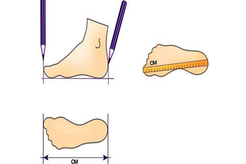 Как узнать размер ноги